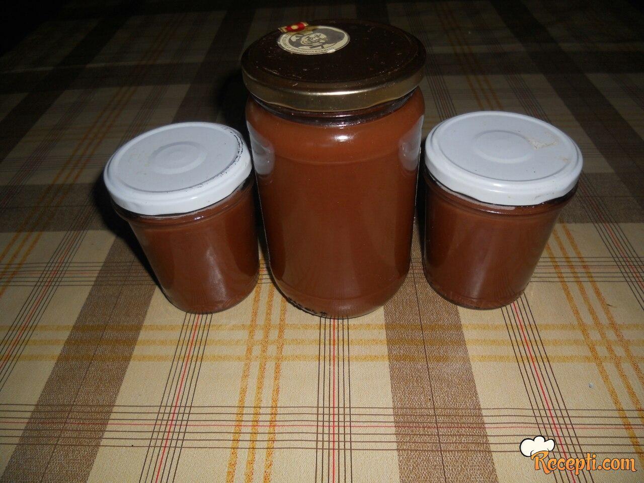 Džem od vinogradarskih bresaka (praski)