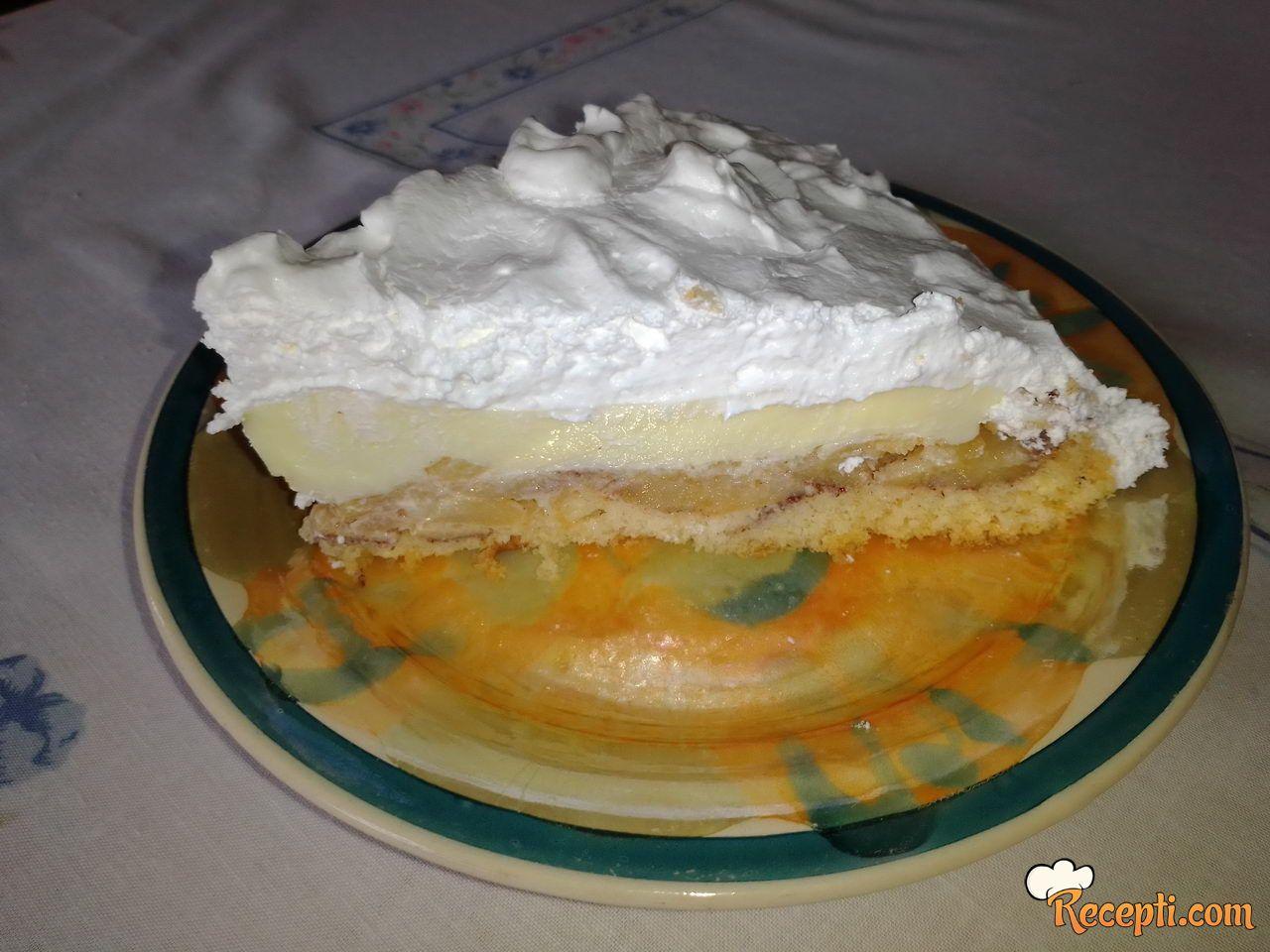 Kolač-torta s jabukama