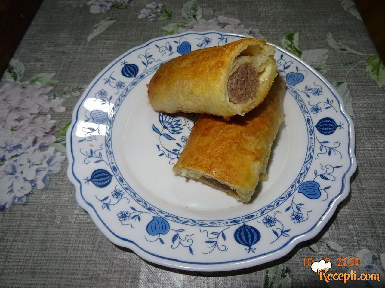 Ćevap pita