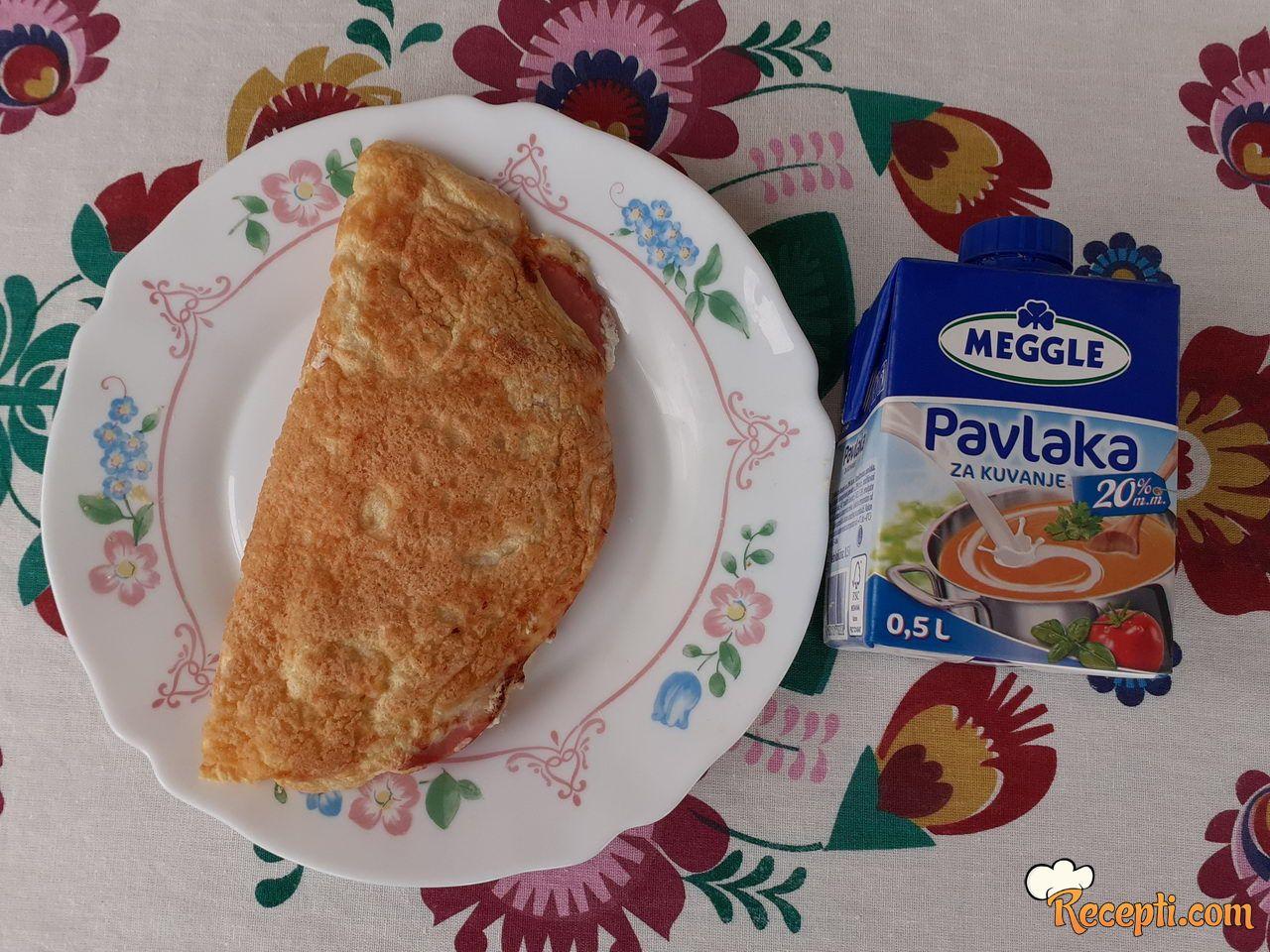 Meggle omlet