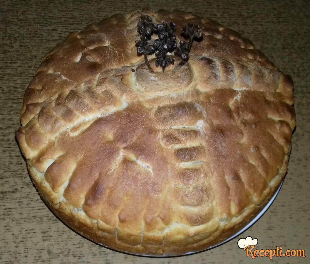 Slavski kolač za povečerje