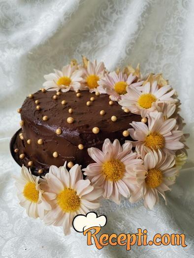 *Little-black-dress* - čokoladna torta