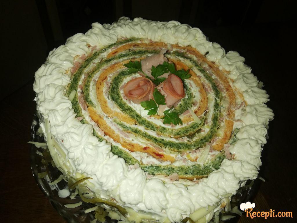Slana torta *veseli točak*