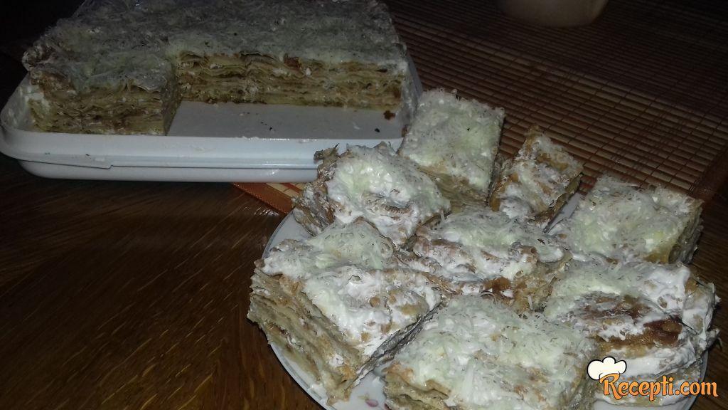 Slana torta od plavog patlidžana