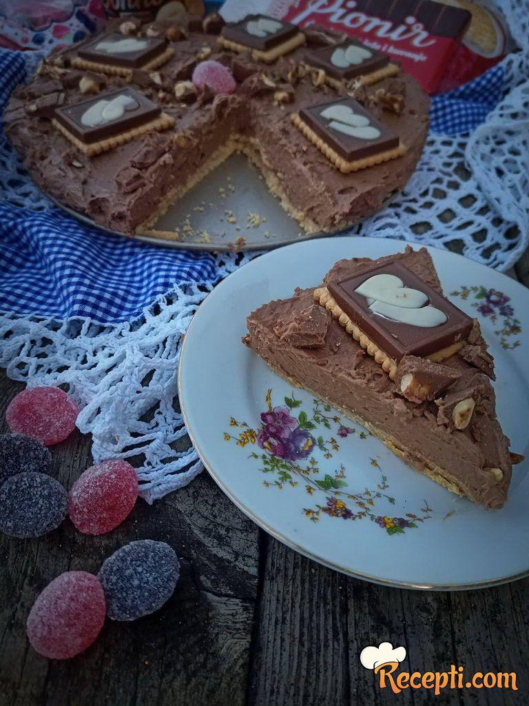 Kremasti čokoladni tart