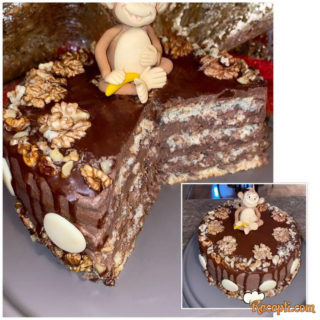 Gabon oranž torta