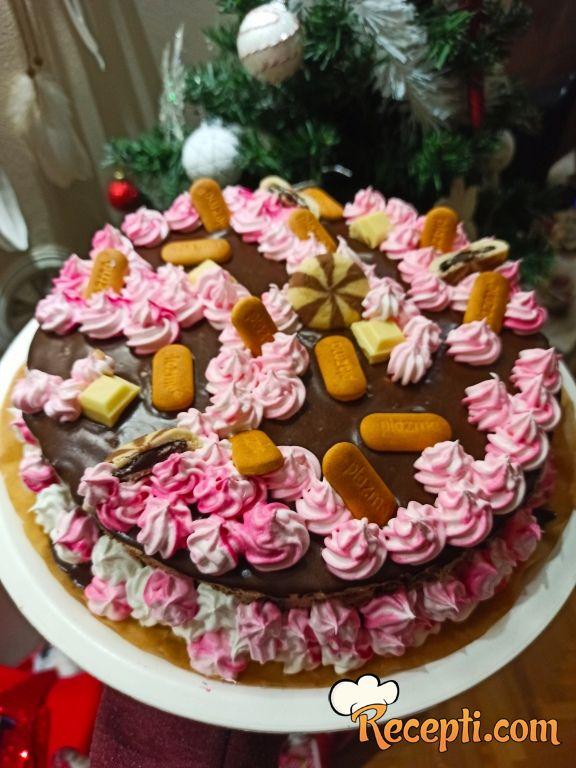 Čoko-višnja tortica