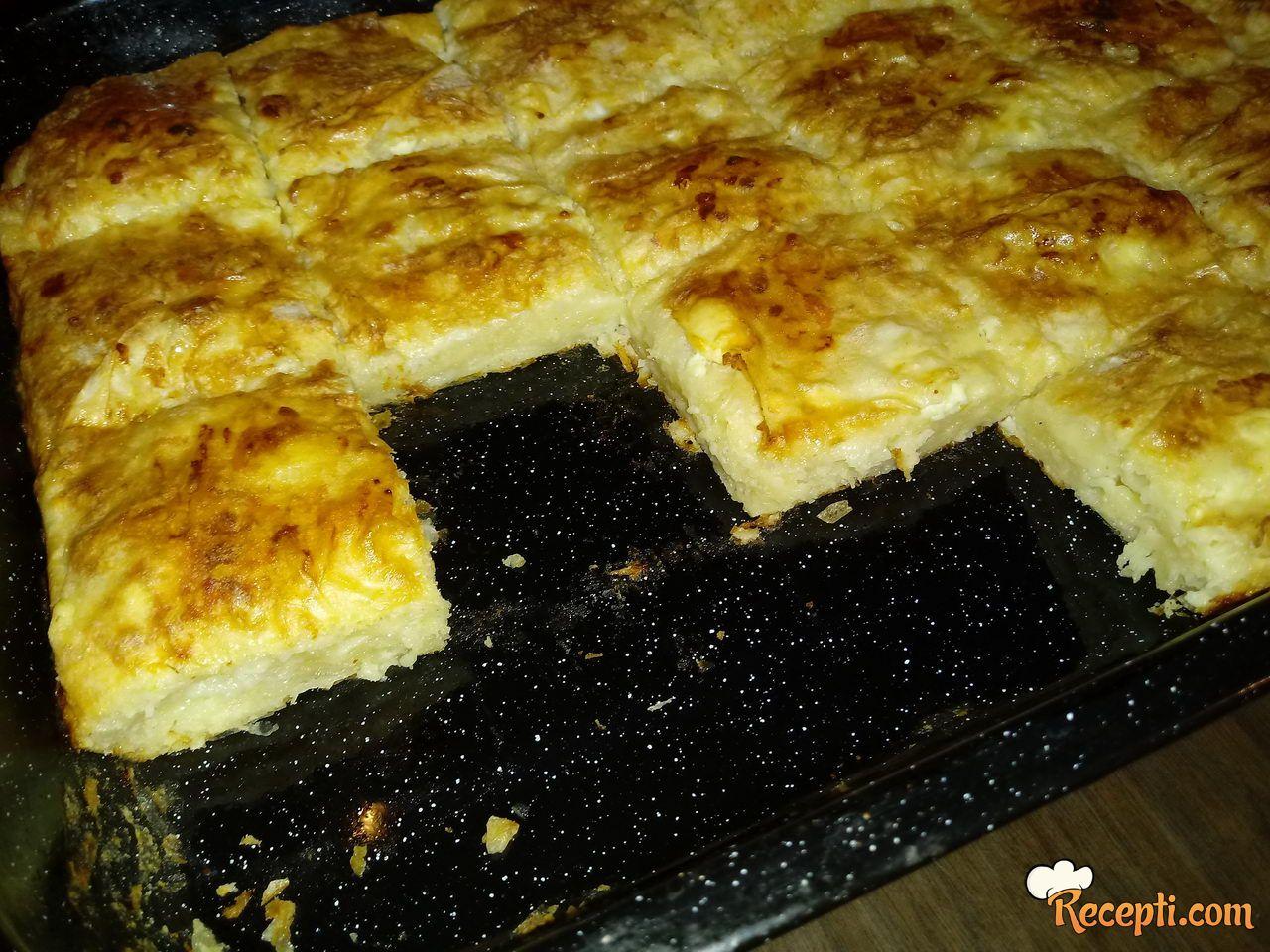 Zalivena pita sa sirom