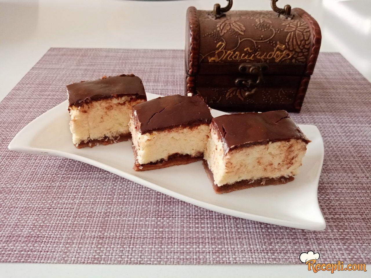 Nežni kokos kolač