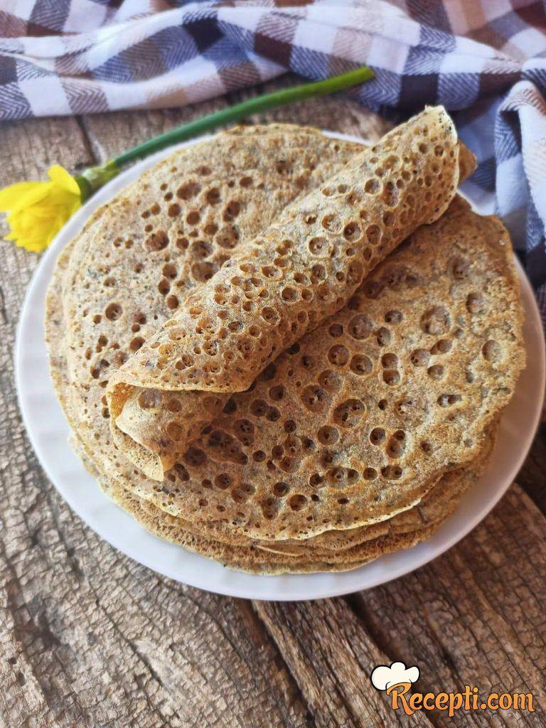 Posne palačinke sa tri vrste brašna