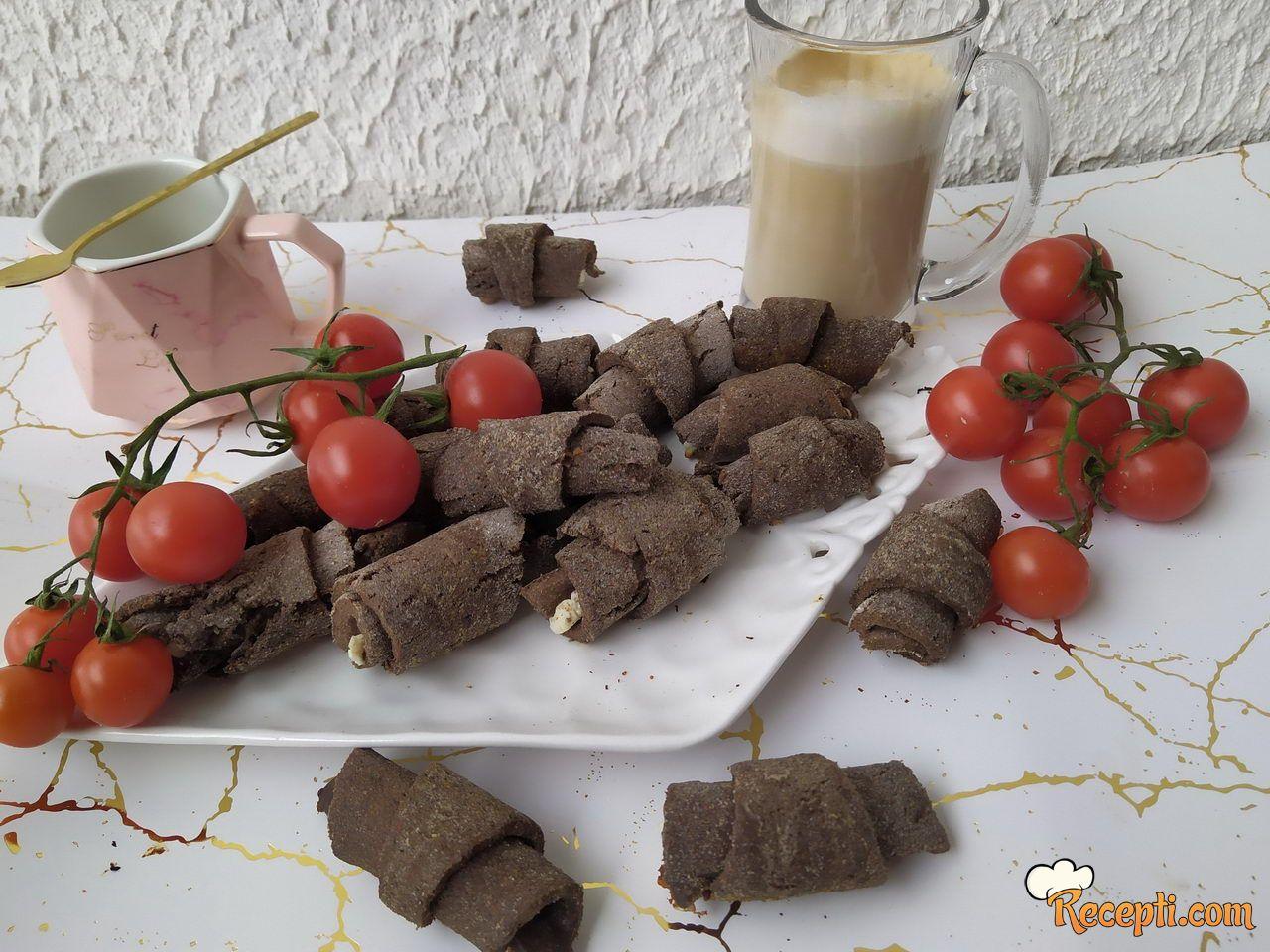 Kiflice od lanenog brašna