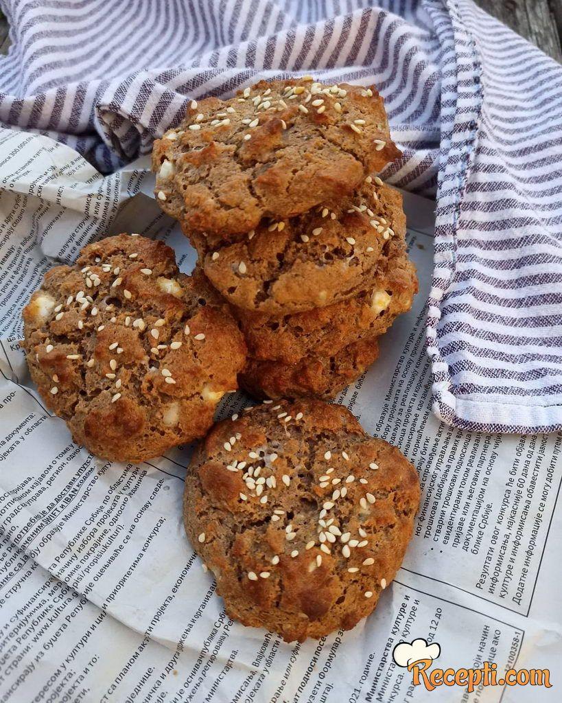 Pogačice od bademovog brašna