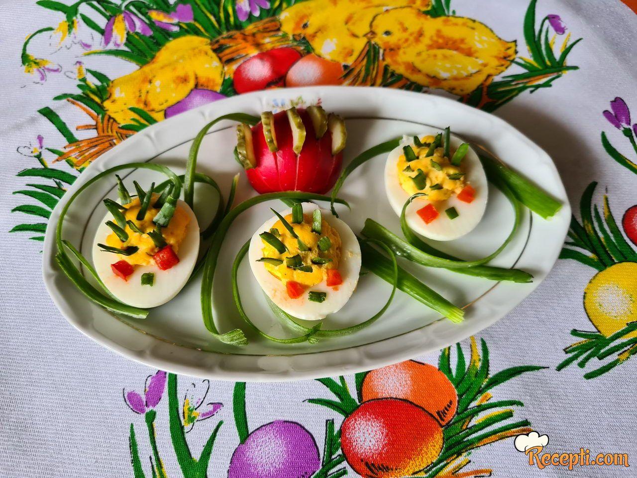 Ježići od jaja