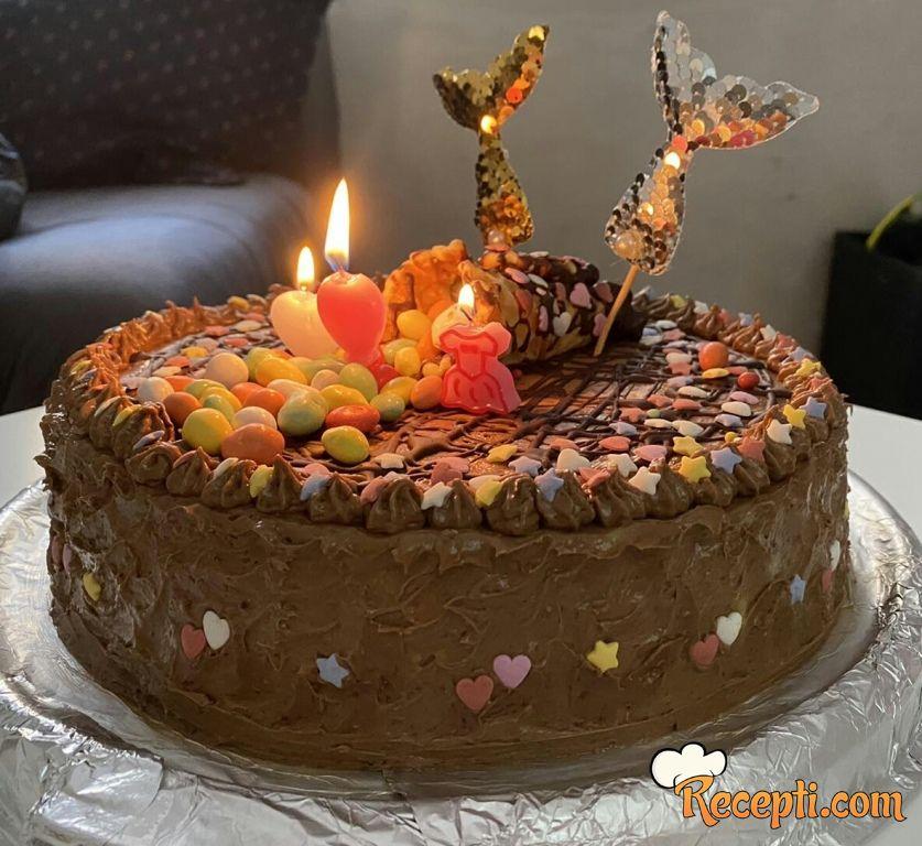 Čokoladna lešnik torta (3)