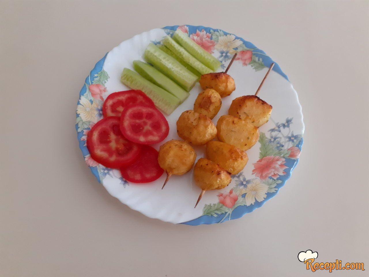 Krompir na ražnjiću