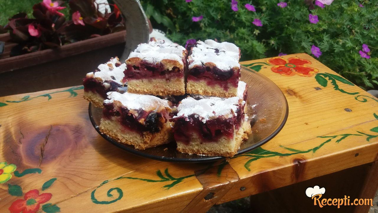 Milankin kolač sa višnjama