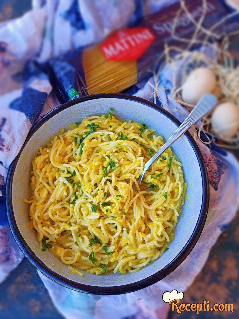 Špagete sa jajima