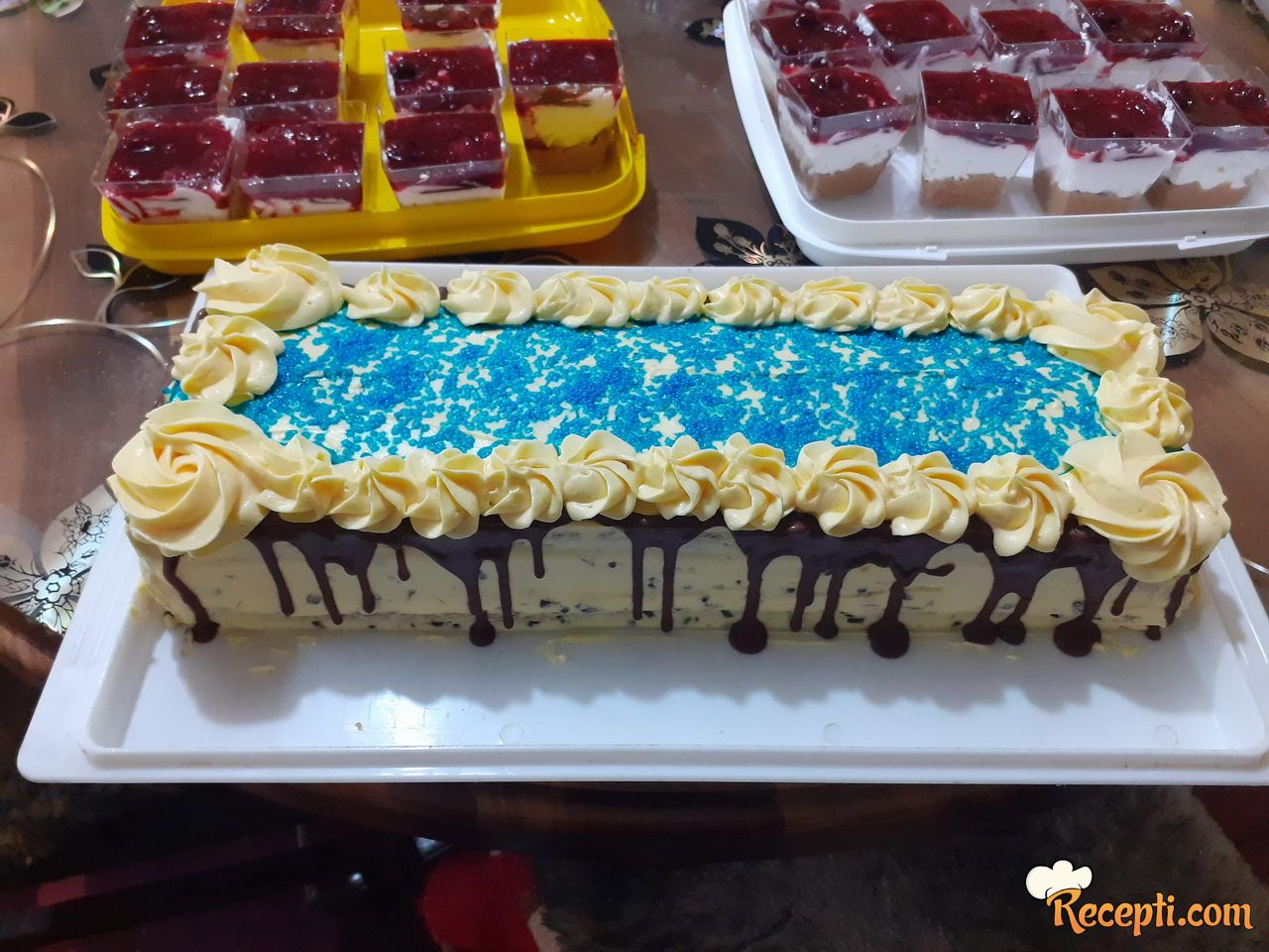 Šnit straćatela torta
