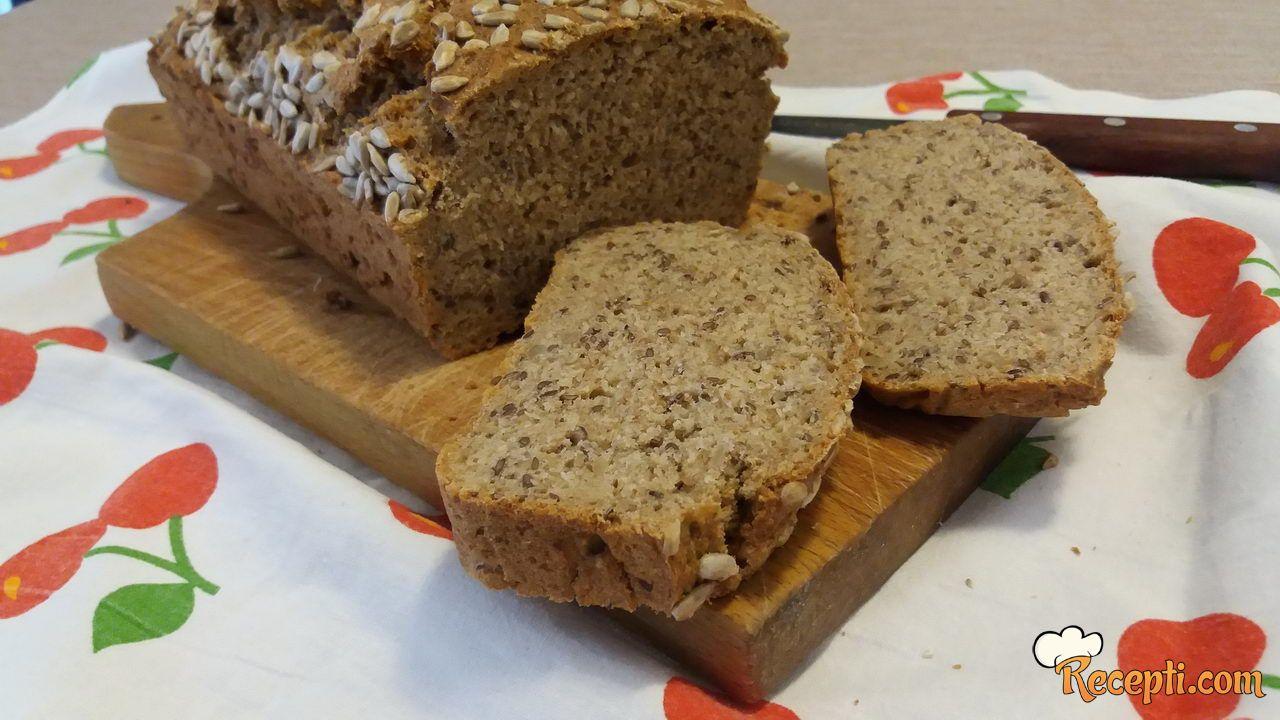 Inegralni hleb sa semenkama