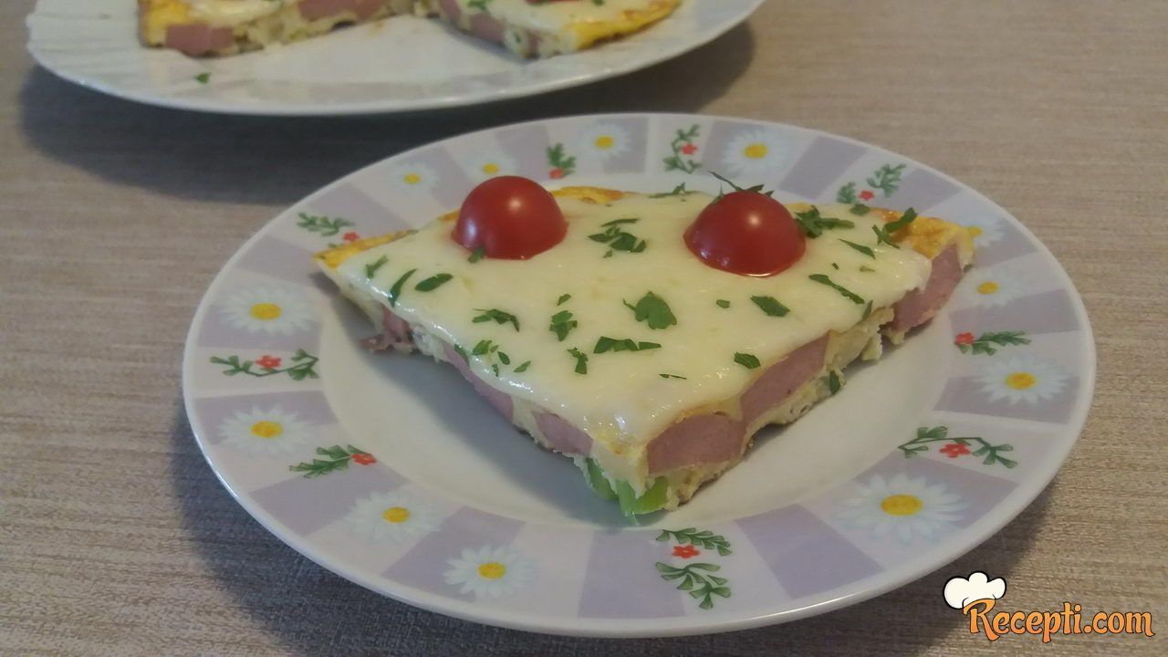 Frittata (italijanska verzija omleta)