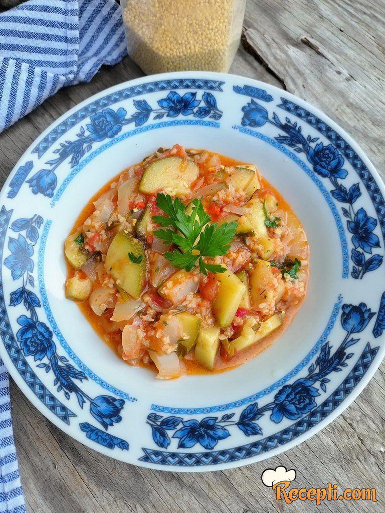 Proso sa povrćem - izdašan i zdrav obrok
