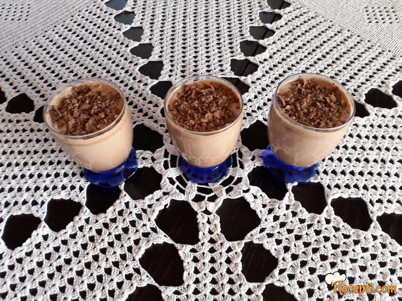 Milkshake sa čokoladom