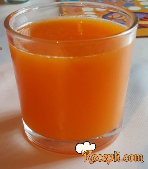 Gusti sok od muskatne tikve