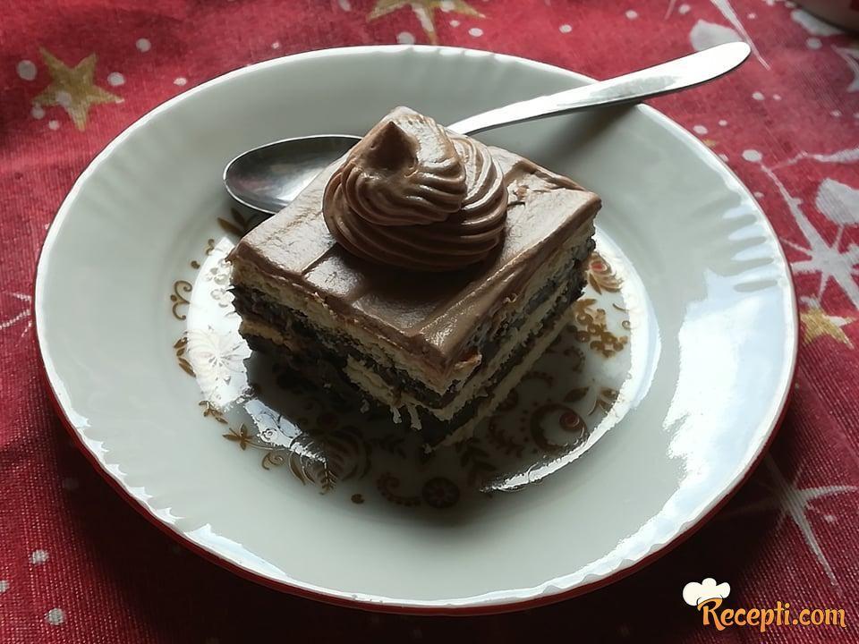 Čokoladne keks kocke