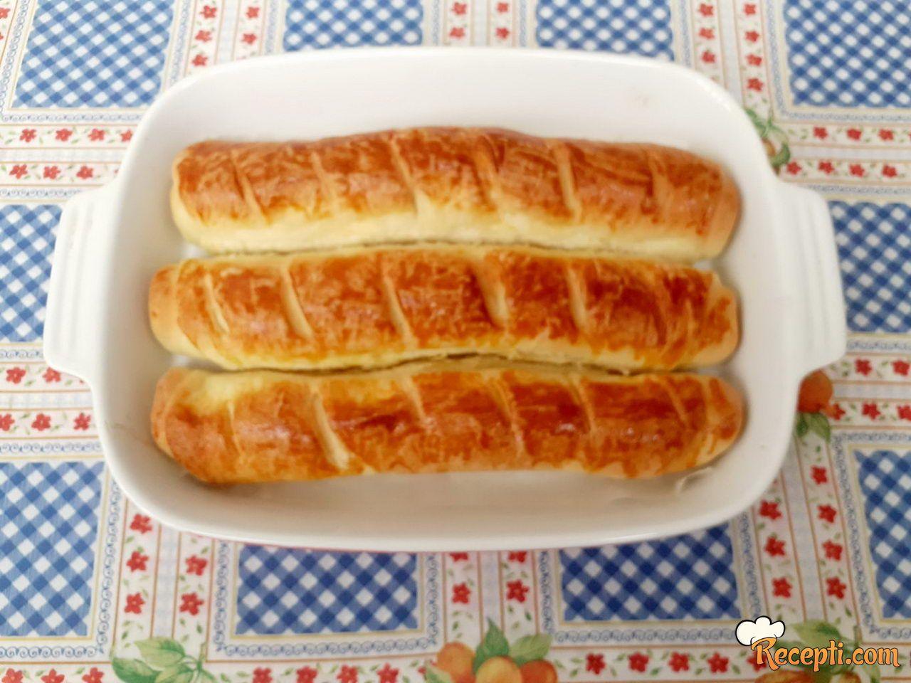 Pecivo u obliku hleba