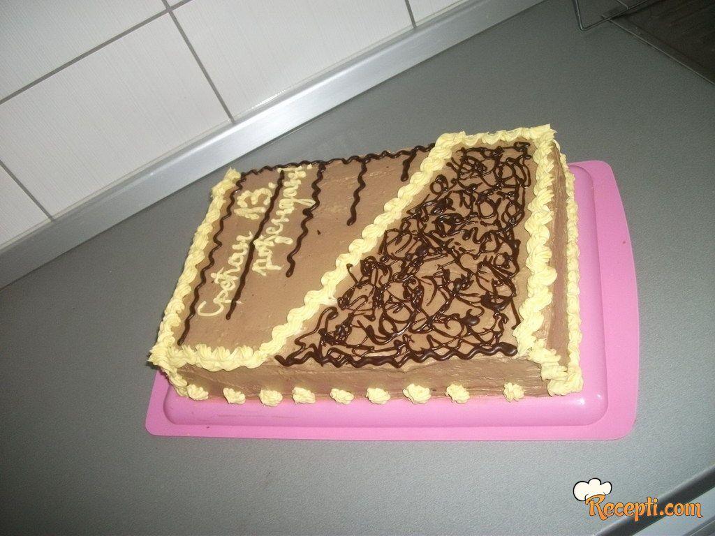 100% beze torta