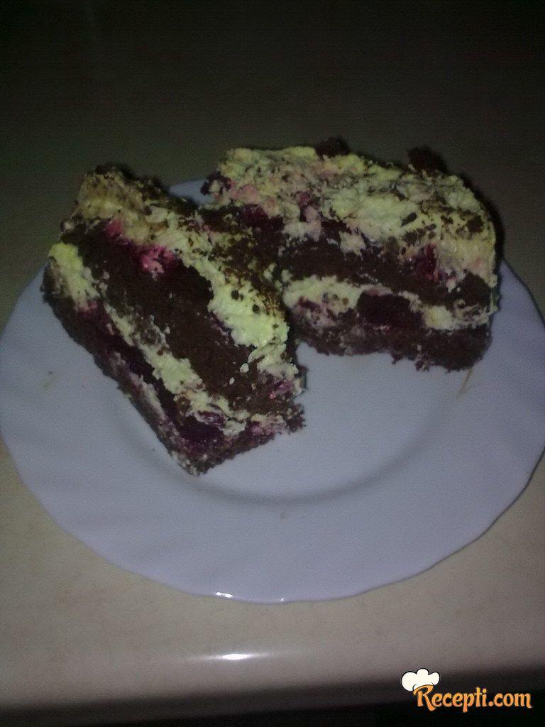 Čokoladna torta sa višnjama (2)