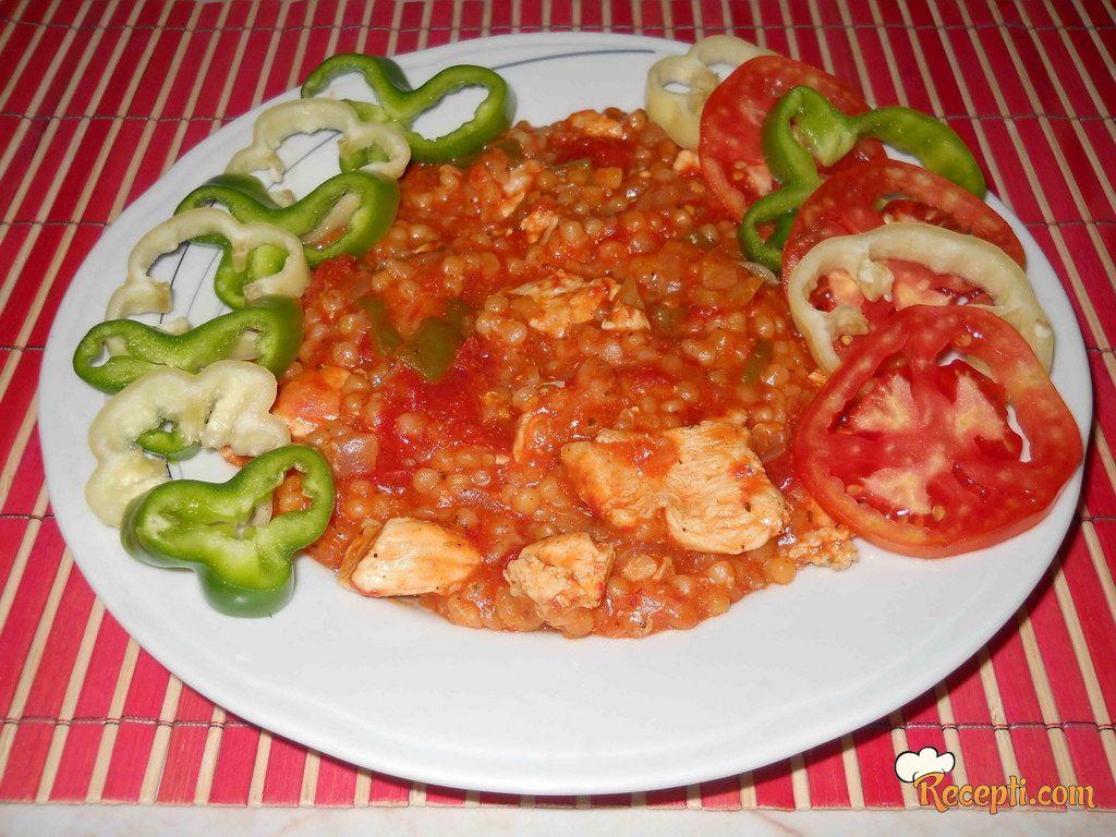 Tarana sa povrćem