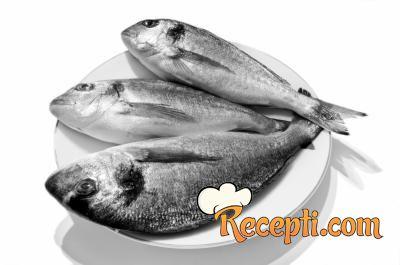 Riba u lovačkom sosu