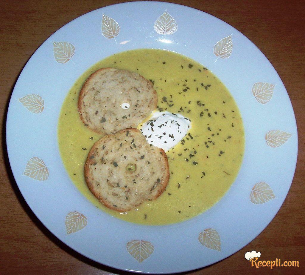 Krem supa od tikvica