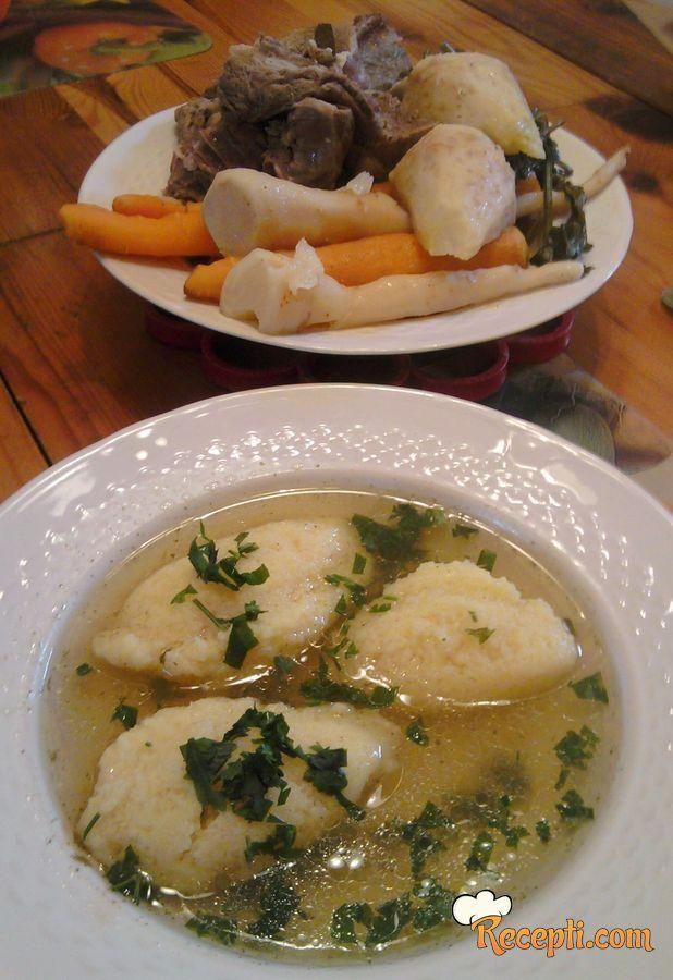 Domaća supa (juneća)
