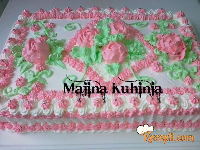 Posna lešnik torta (2)