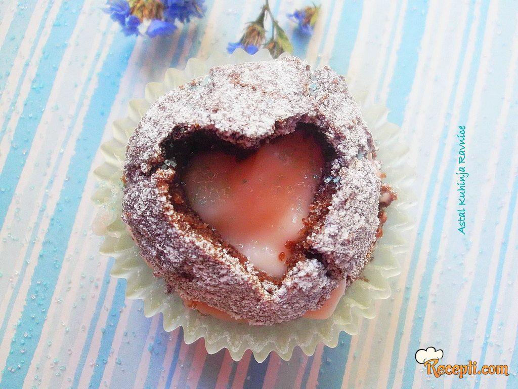 Čokoladni Zaljubljeni Mafini