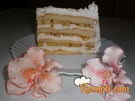 Krem torta od banana