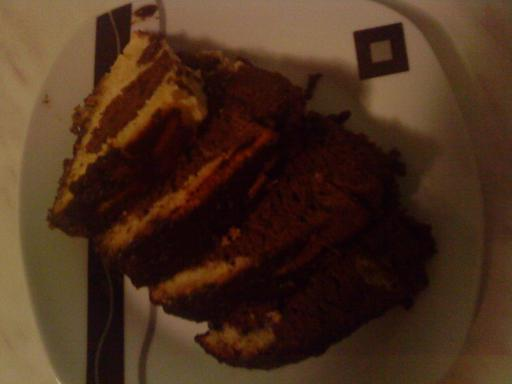 Zoričin kuglof od čokolade