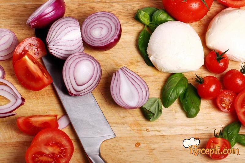 Salata od praziluka i krompira