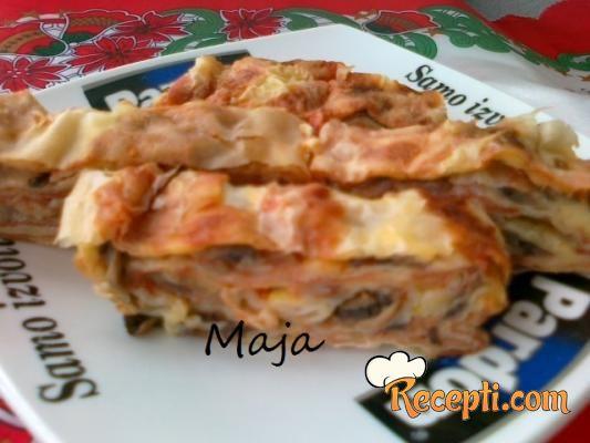Recept Posni Pizza Rolati Recepti