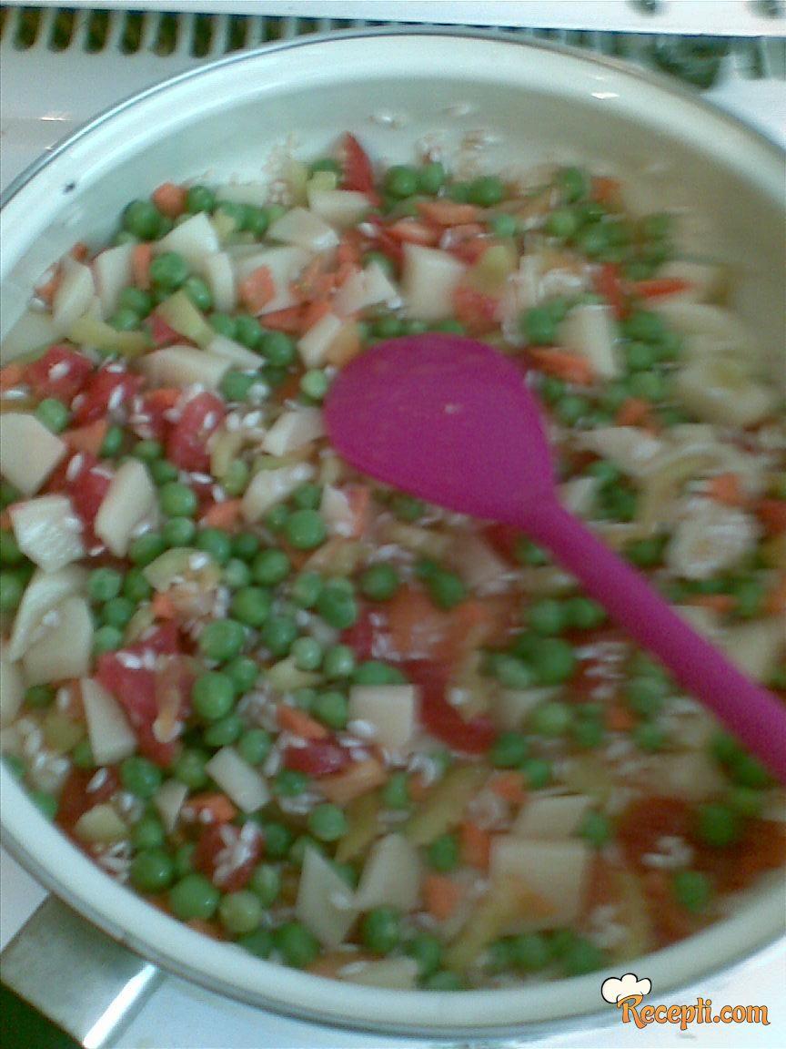 Povrće sa pavlakom