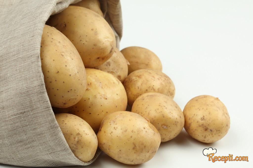 Krompir i šampinjoni
