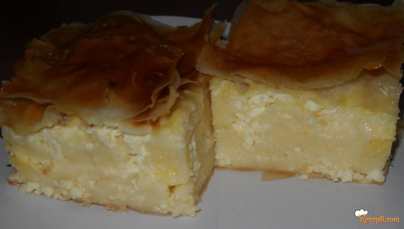 Gibanica sa svježim i suvim sirom