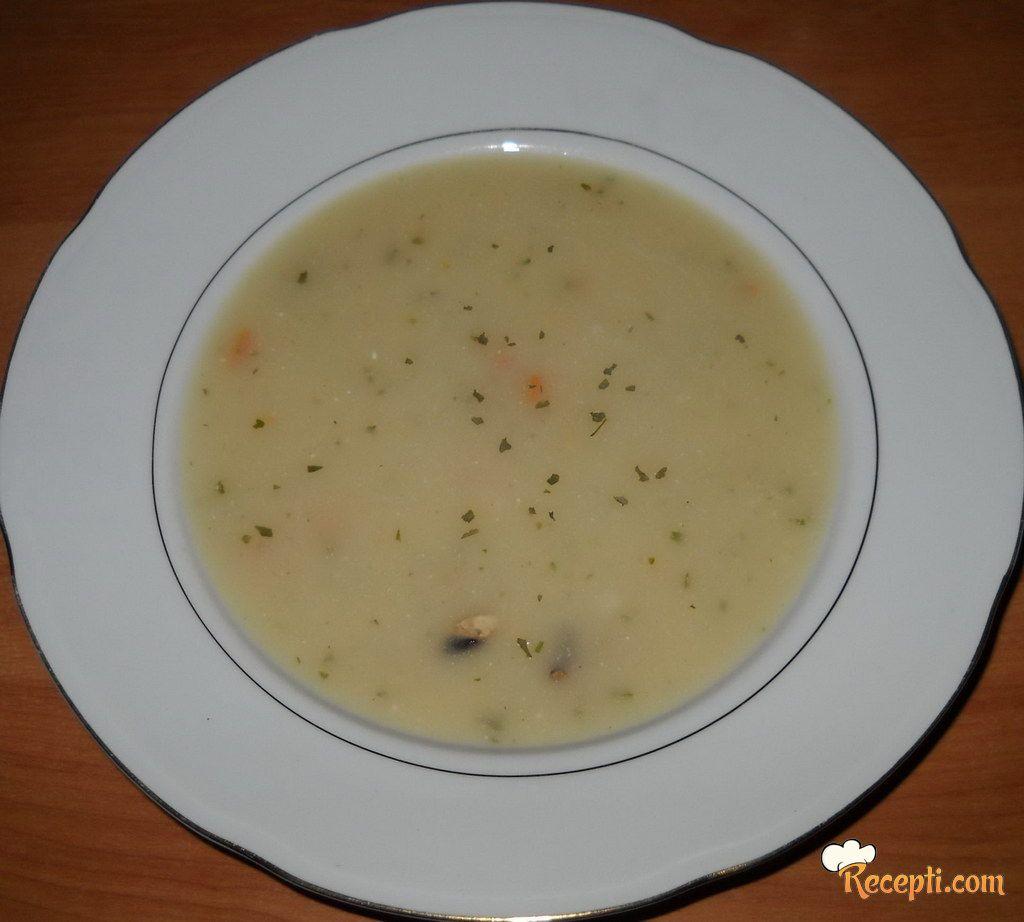 Krem supa od šampinjona
