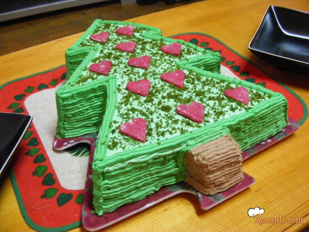 Novogodišnja tortica