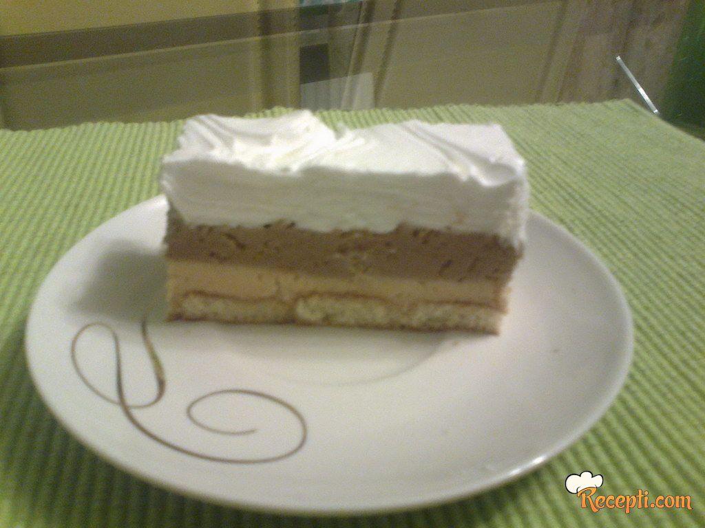 Torta Recipe http://www.recepti.com/kuvar/torte/8049-milka-torta