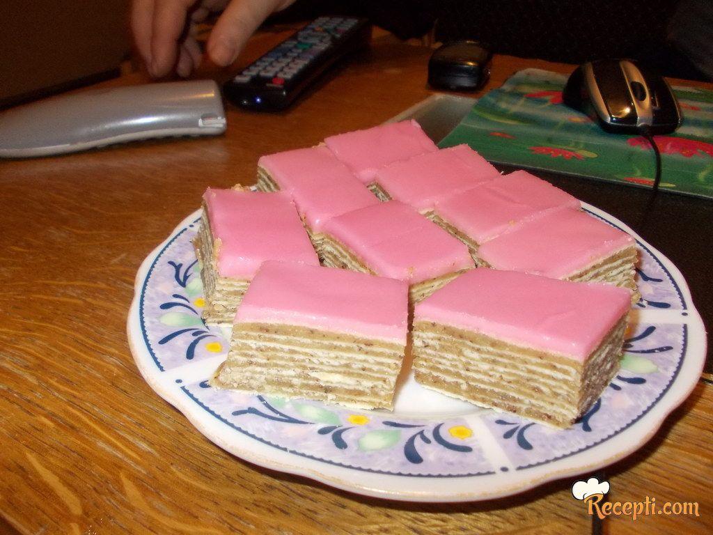 Rozen torta-kolač