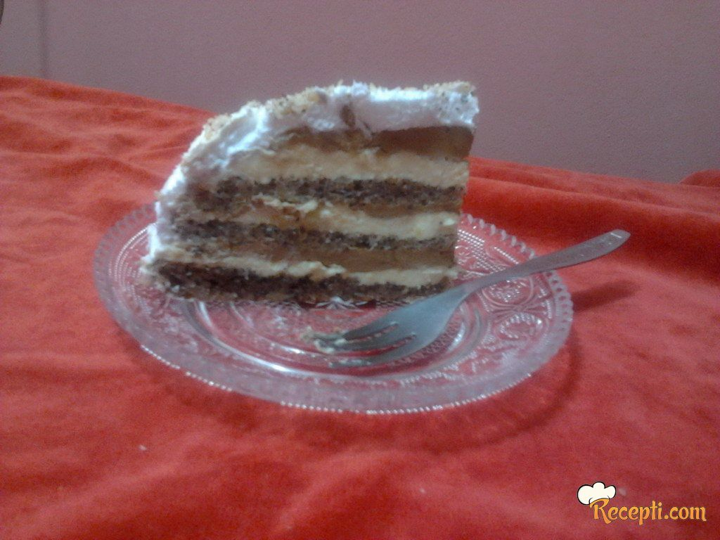 Sjajna lešnik torta