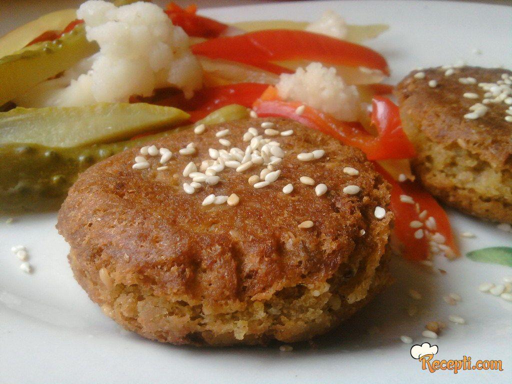 Falafel - orijentalne ćufte od leblebija